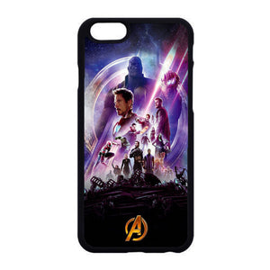 purchase cheap fc9d4 944cd Avengers Infinity War Poster Purple iPhone 6|6S Case | Frostedcase