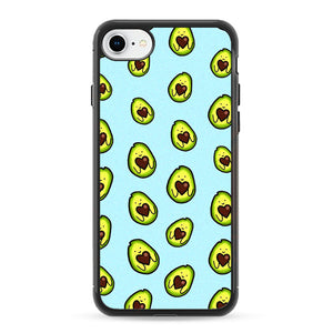 Avocado Cartoon Cute Pattern iPhone 7 Case | Frostedcase