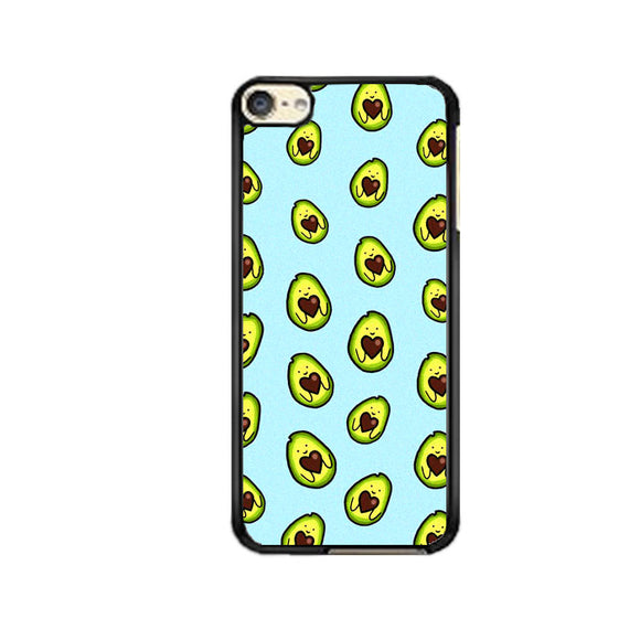 Avocado Cartoon Cute Pattern iPod 6 Case | Frostedcase