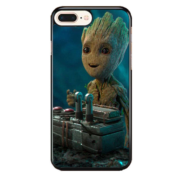 Baby Groot Guardians Of The Galaxy iPhone 8 Plus Case | Frostedcase
