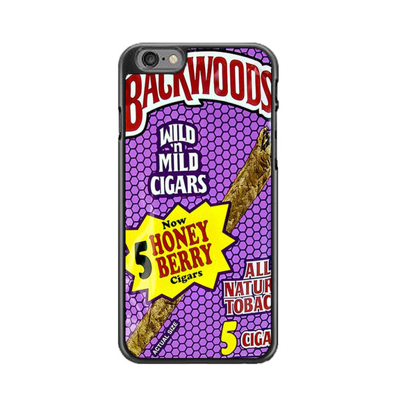 Backwoods Honey Berry Cigars iPhone 6 Plus|6S Plus Case | Frostedcase