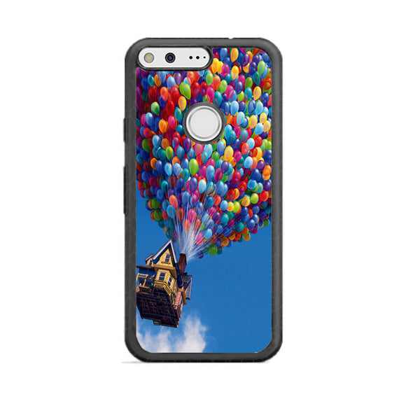 Balloon House Pastel Otterbox Google Pixel Case | Frostedcase