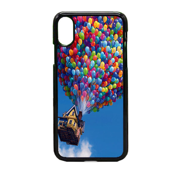 Balloon House Pastel Otterbox iPhone X Case | Frostedcase