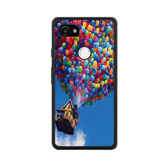 Balloon House Pastel Otterbox Google Pixel 2 XL Case | Frostedcase