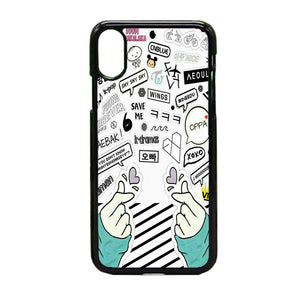 Bangtan Boys iPhone X Case | Frostedcase
