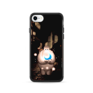 Baymax In The Night iPhone 8 Case | Frostedcase