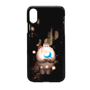 Baymax In The Night iPhone X Case | Frostedcase