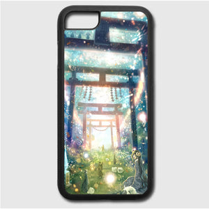 Beautiful Scene In Anime iPhone 7 Case | Frostedcase