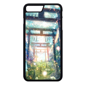 Beautiful Scene In Anime iPhone 7 Plus Case | Frostedcase