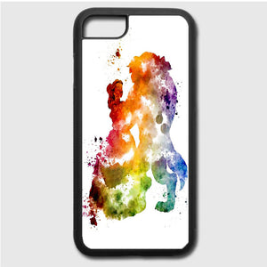 Beauty And The Beast Paint iPhone 7 Case | Frostedcase