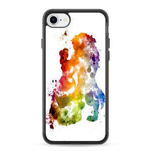 Beauty And The Beast Paint iPhone 8 Case | Frostedcase