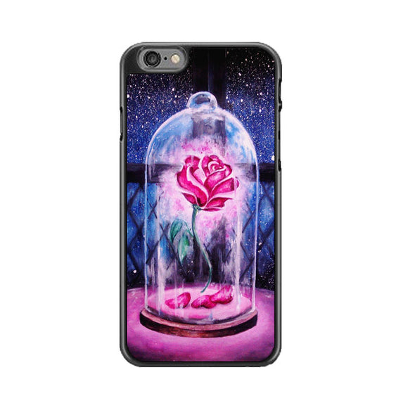 Beauty And The Beast Rose iPhone 6 Plus|6S Plus Case | Frostedcase