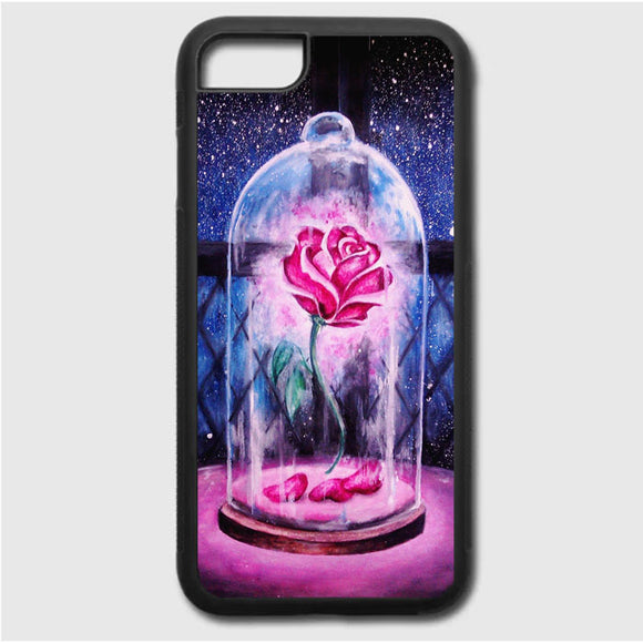Beauty And The Beast Rose iPhone 7 Case | Frostedcase