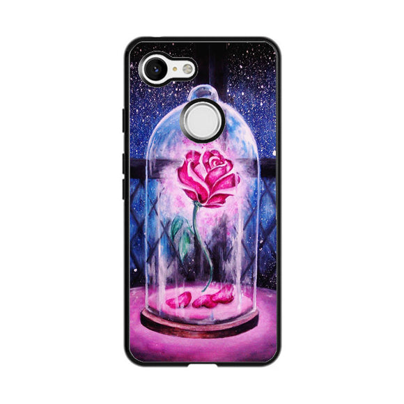 Beauty And The Beast Rose Google Pixel 3 XL Case | Frostedcase