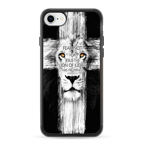 Bible Quotes About Lions iPhone 8 Case | Frostedcase