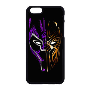 Black Panther Golden Purple iPhone 6 6S Case   Frostedcase
