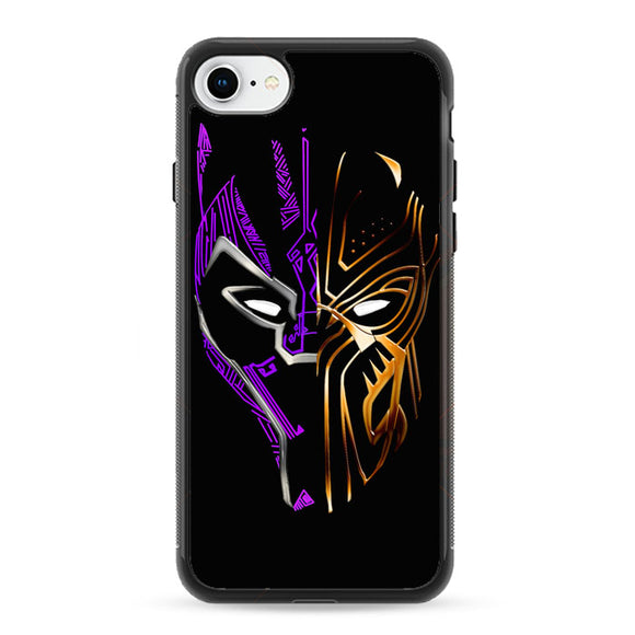 Black Panther Golden Purple iPhone 8 Case | Frostedcase