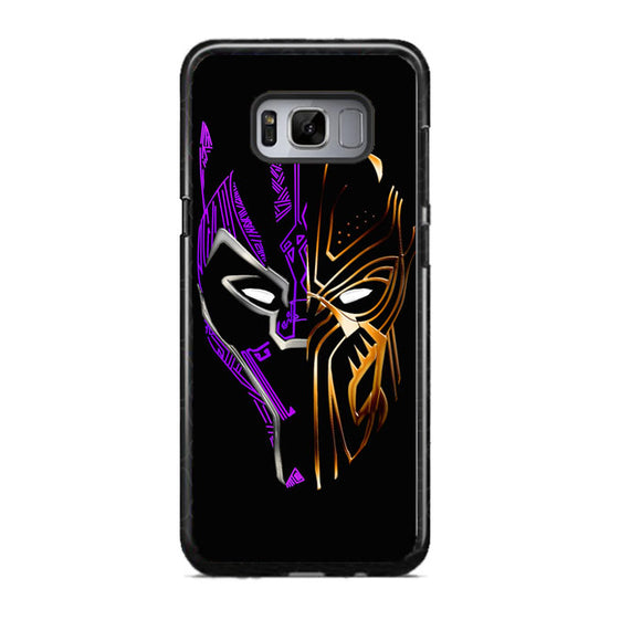 Black Panther Golden Purple Samsung Galaxy S8 Case | Frostedcase