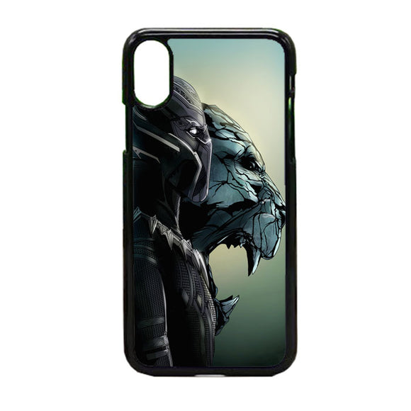 Black Panther Vector iPhone XS Max Case | Frostedcase