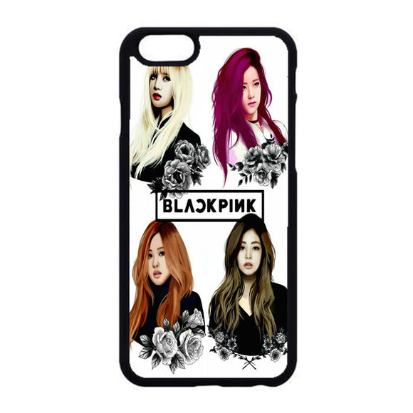 Black Pink Art iPhone 6|6S Case | Frostedcase