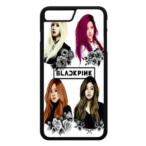 Black Pink Art iPhone 7 Plus Case | Frostedcase