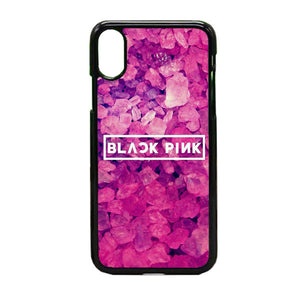 Black Pink iPhone X Case | Frostedcase