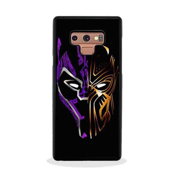 Black Panther Golden Purple Samsung Galaxy Note 9 Case | Frostedcase