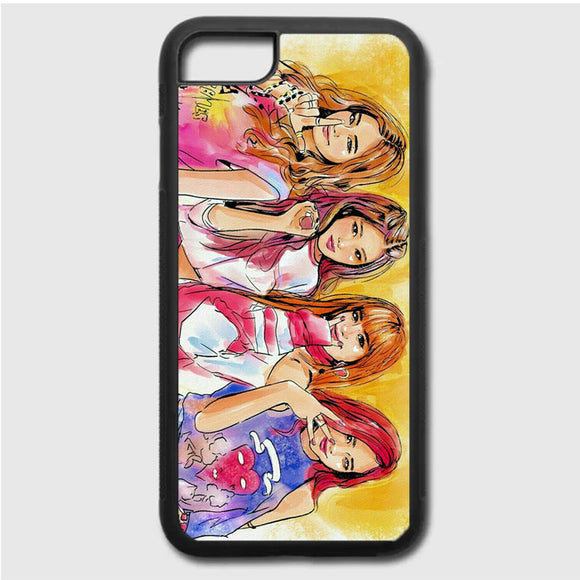 Blackpink Art iPhone 7 Case | Frostedcase