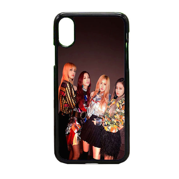 Blackpink Playing With Fire Poster iPhone X Case | Frostedcase