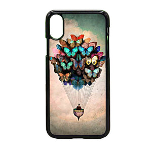 Born2 Butterfly Quadros iPhone X Case | Frostedcase