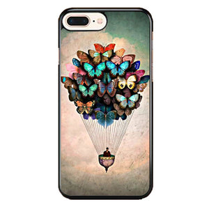 Born2 Butterfly Quadros iPhone 8 Plus Case | Frostedcase