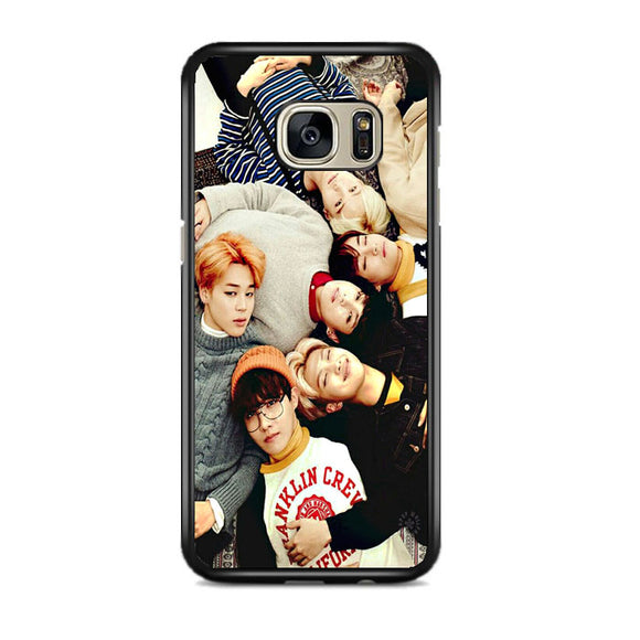Bts Photo Session Samsung Galaxy S7 Edge Case Frostedcase