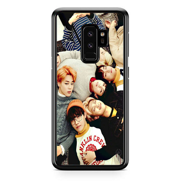 best service 093ce d301d Bts Photo Session Samsung Galaxy S9 Plus Case | Frostedcase