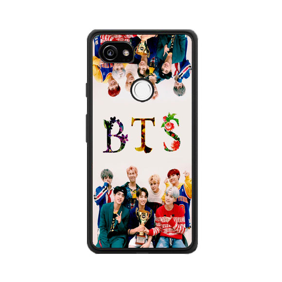 Bts Personalised Floral Winner Google Pixel 2 XL Case | Frostedcase