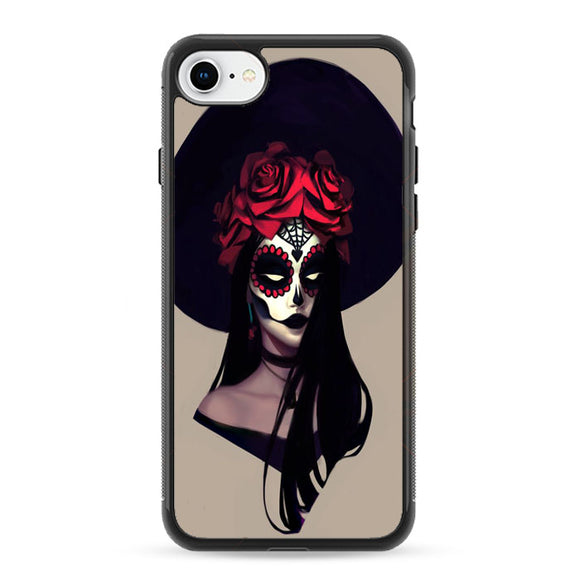Calaverita De Azucar Anime iPhone 8 Case | Frostedcase