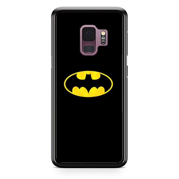 Super Hero Batman Logo Samsung Galaxy S9 Case | Frostedcase