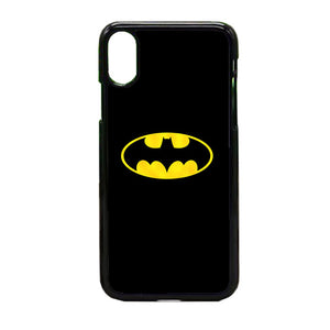 Super Hero Batman Logo iPhone X Case | Frostedcase