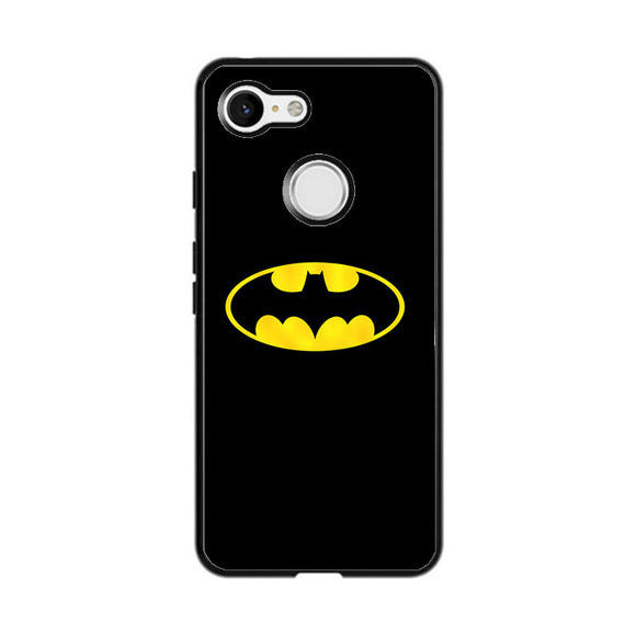 Super Hero Logo Batman Google Pixel 3 XL Case | Frostedcase