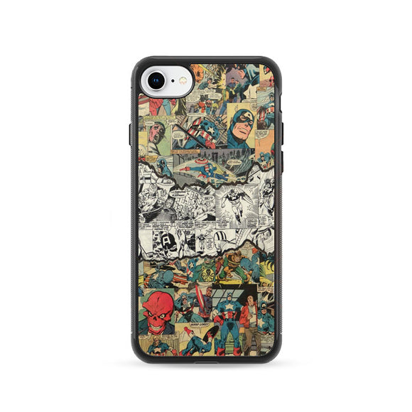 Capitao America iPhone 8 Case | Frostedcase