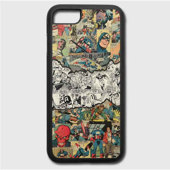 Capitao America iPhone 7 Case | Frostedcase