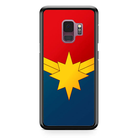 Captain Marvel Emblem Samsung Galaxy S9 Case | Frostedcase