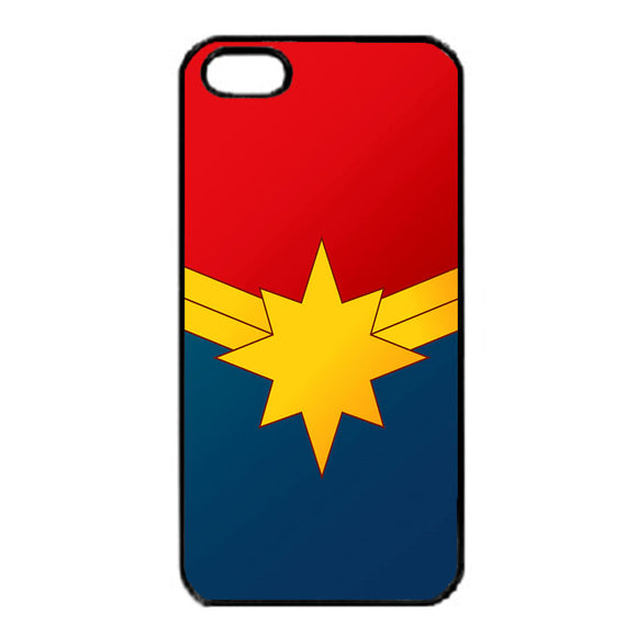 Captain Marvel Emblem iPhone 5|5S|SE Case | Frostedcase