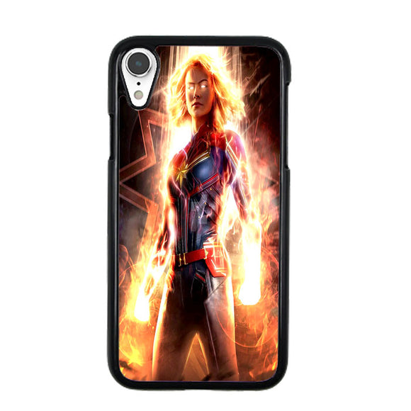 Captain Marvel Movie iPhone XR Case | Frostedcase