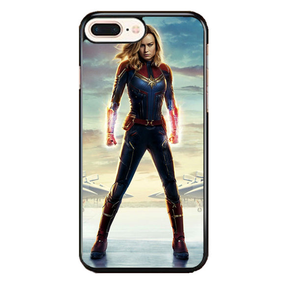 Carol Danvers Captain Marvel iPhone 8 Plus Case | Frostedcase