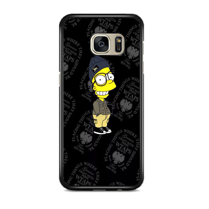 Cartoon And Dope The Simpsons Samsung Galaxy S7 EDGE Case | Frostedcase