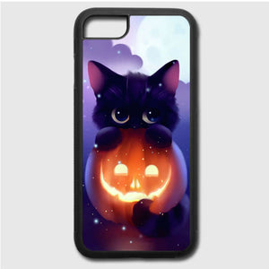 Cat Halloween Illustration iPhone 7 Case | Frostedcase