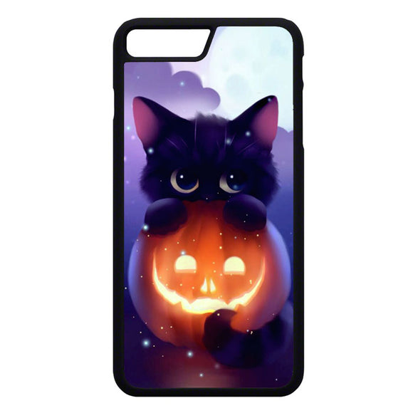 Cat Halloween Illustration iPhone 7 Plus Case | Frostedcase