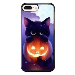 Cat Halloween Illustration iPhone 8 Plus Case | Frostedcase