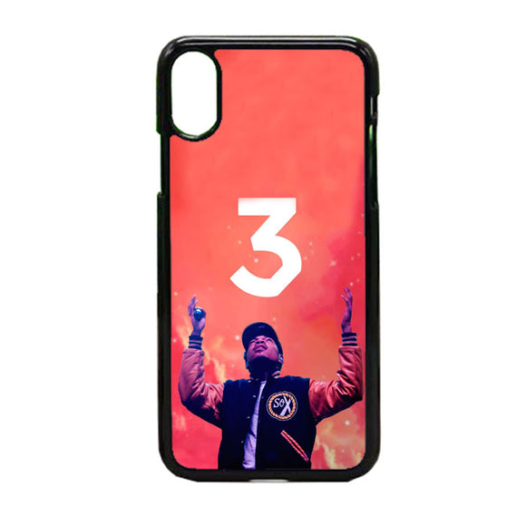 Chance The Rapper 3 iPhone X Case | Frostedcase