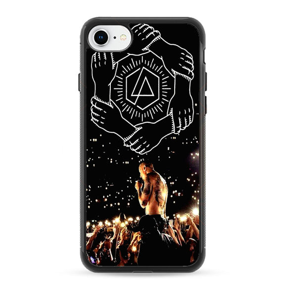Chester Bennington Homenaje Linkin Park iPhone 8 Case | Frostedcase